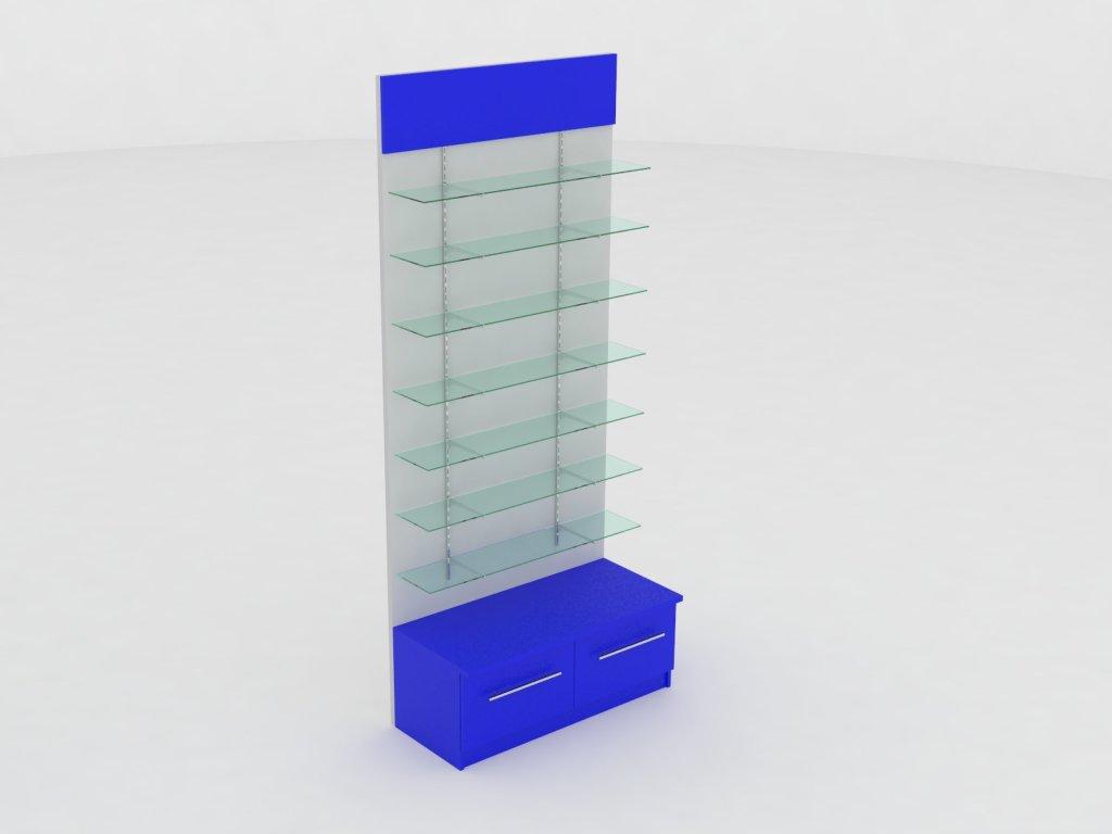 Витрина с системой Vertical