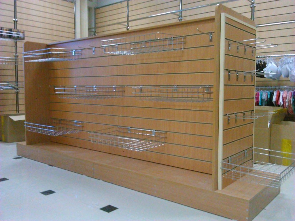 Магазин с системой экономпанелей
